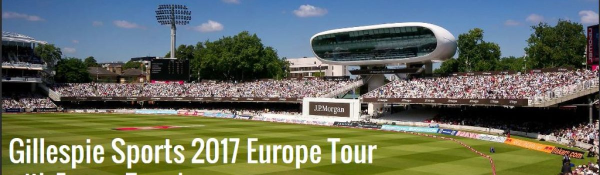 UK/Europe Cricket tour 2017