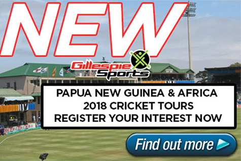 2018 Cricket Tours
